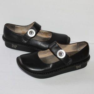 Women Mary Jane Alegria Black Shoes Women size 38